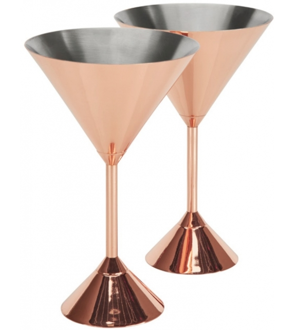 Plum Martini Tom Dixon Set di 2 Bicchieri