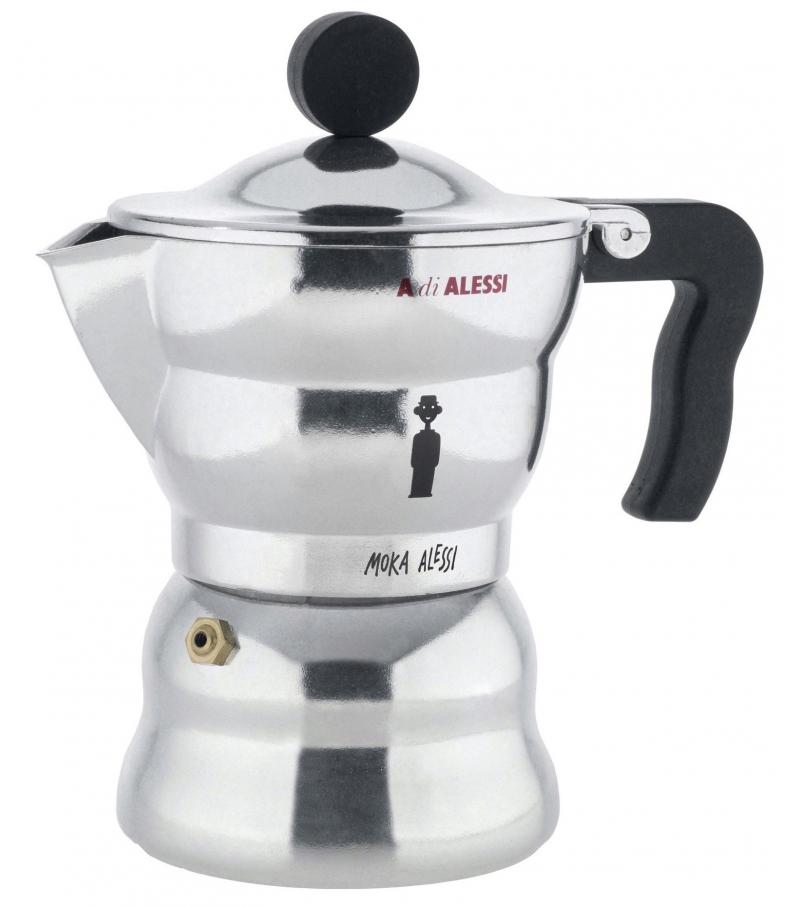 AAM33 Alessi Caffettiera Espresso