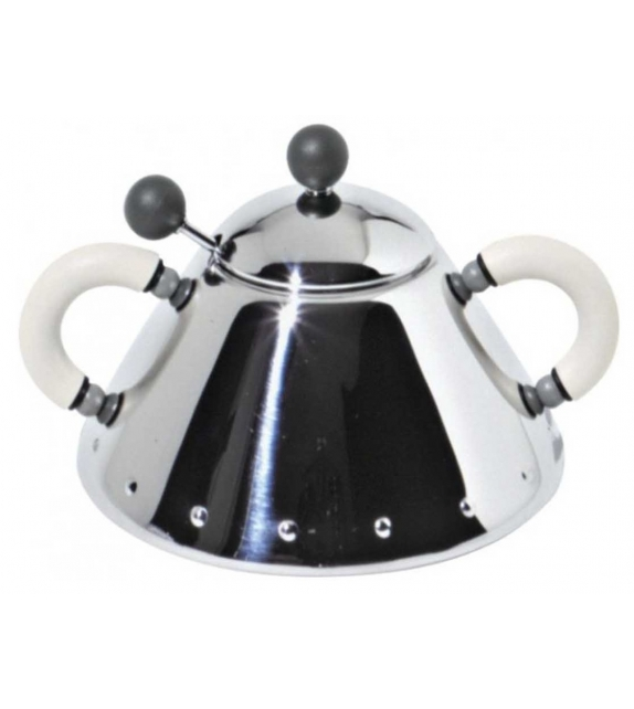 9097 Alessi Sugar Bowl with Spoon