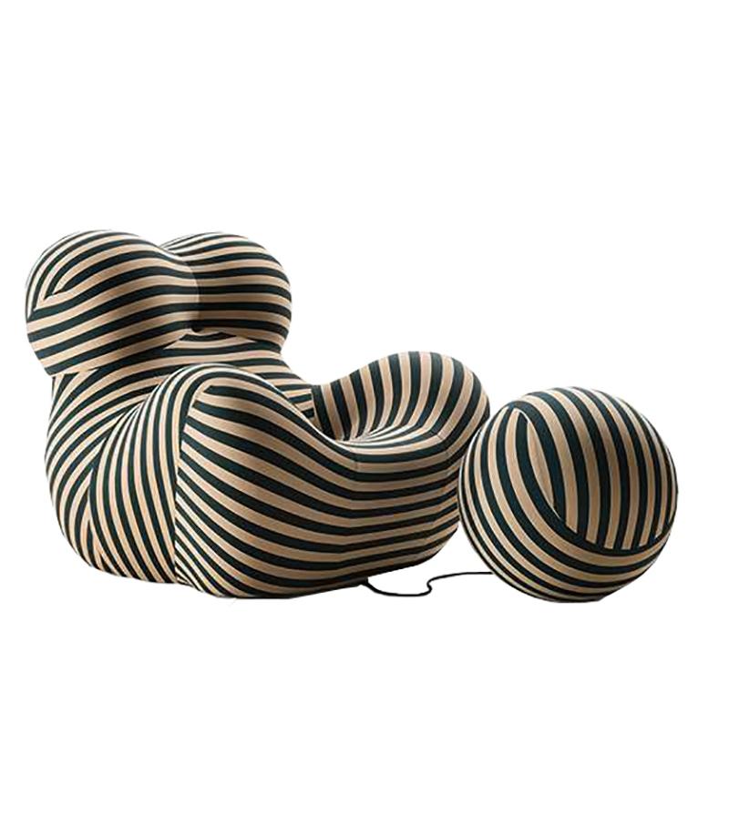 Ready for shipping – Serie Up 50 B&B Italia Armchair