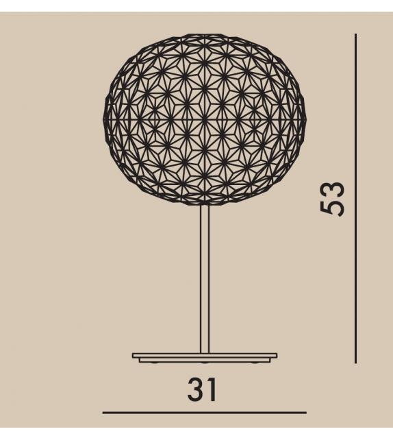 Planet Kartell Lámpara de Mesa Con Dimmer