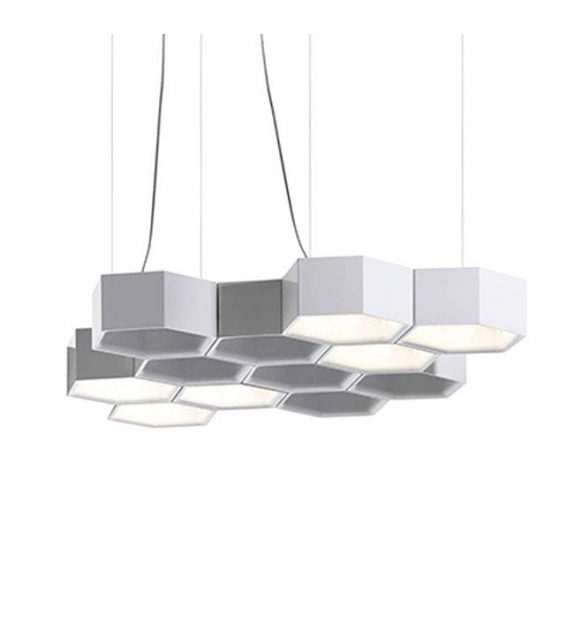 D70 Honeycomb Luceplan Suspension Lamp