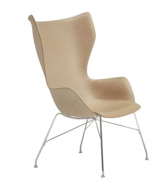 Versandfertig - K/Wood Kartell Sessel