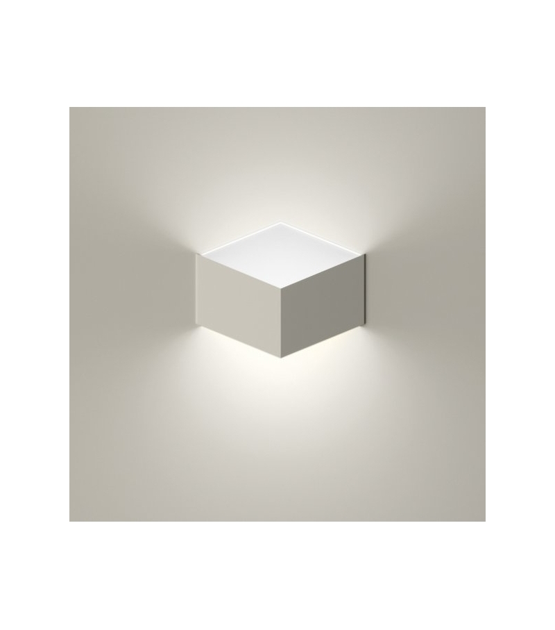 Wall Mounted Folding Lamp : Fold Built-In Wall Lamp Vibia - Milia Shop