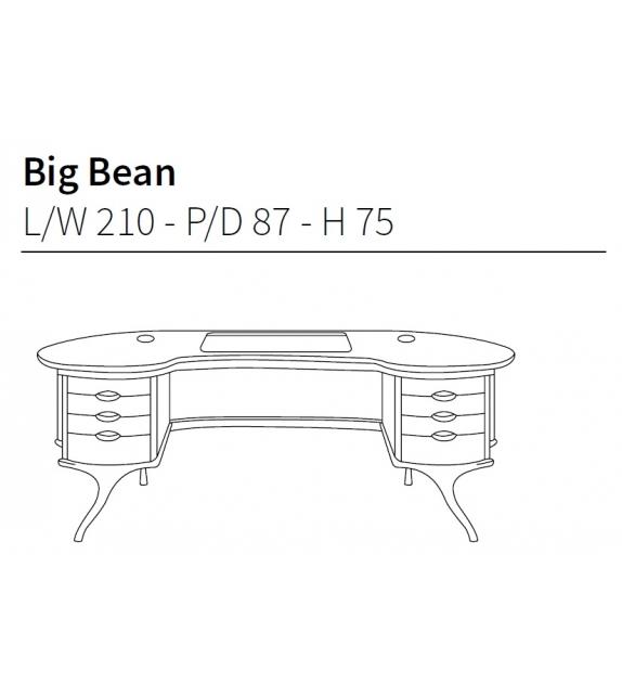 Big Bean Bureau Ceccotti Collezioni