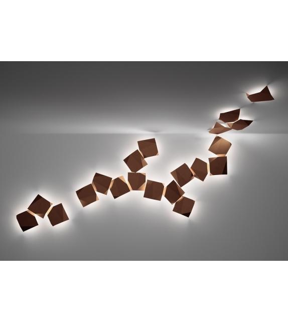 Vibia: Origami Wallart-Außenleuchte