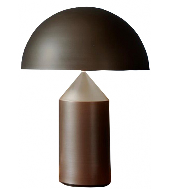 Atollo Lampe De Table Bronze Oluce