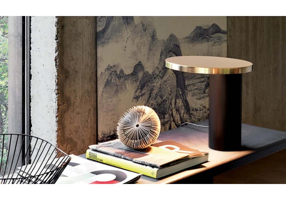 Cylinda Lampada Da Tavolo Oluce Milia Shop