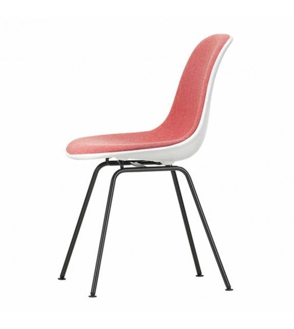 Eames Plastic Side Chair DSX Sedia Imbottita Vitra