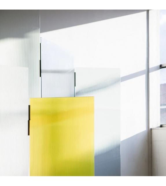 Rayures Glas Italia Raumteiler