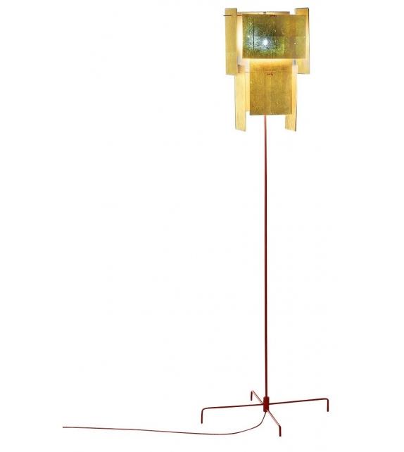 24 Karat Blau Ingo Maurer Floor Lamp