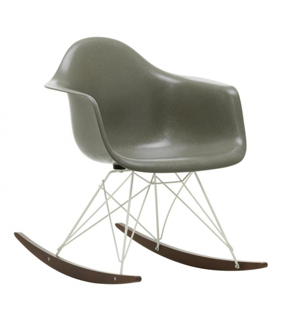 Eames Fiberglass Armchair RAR Schaukel Sessel Vitra