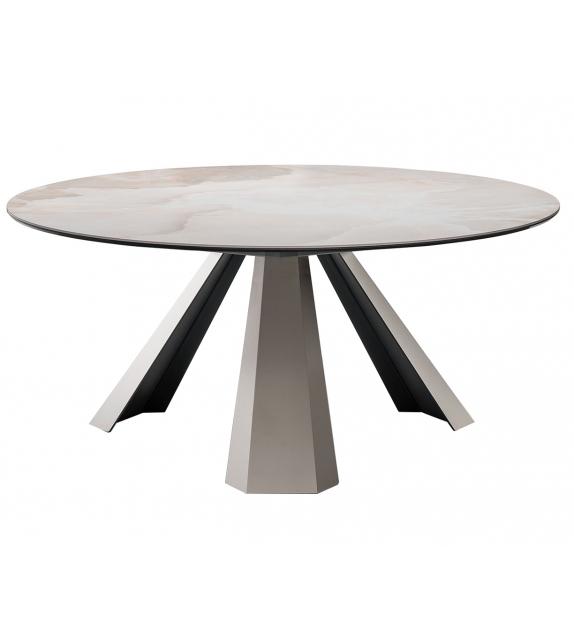 Eliot Keramik Round Cattelan Italia Runder Tisch