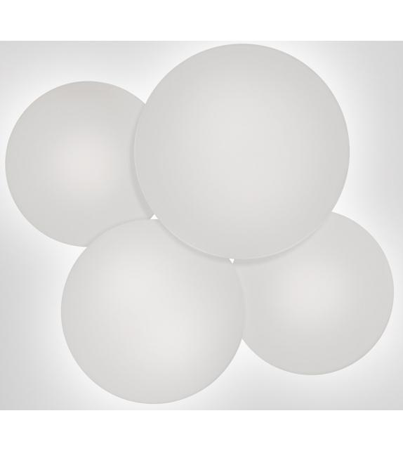Vibia: Puck Plafón de 4 Esferas