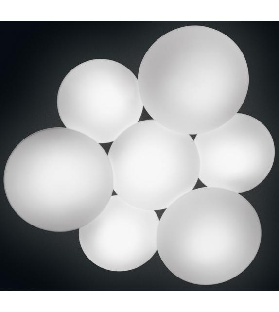 Vibia: Puck Plafón de 7 Esferas