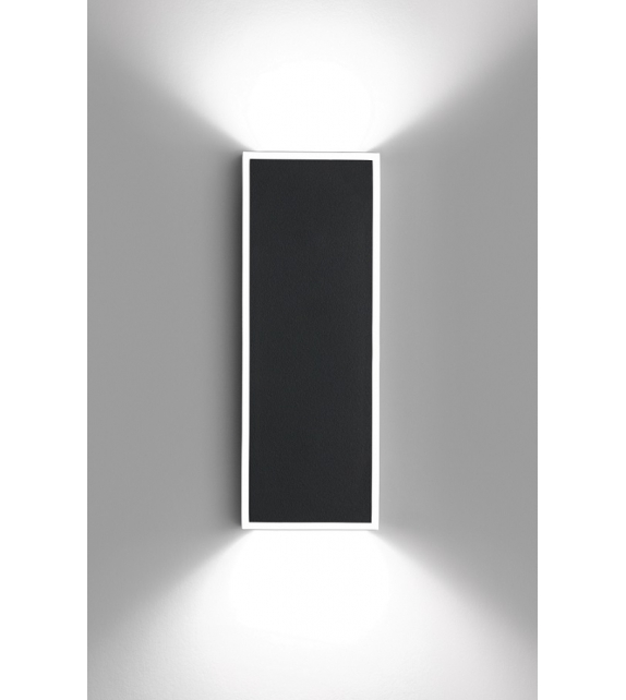Vibia: Alpha Rectangular Wall Lamp