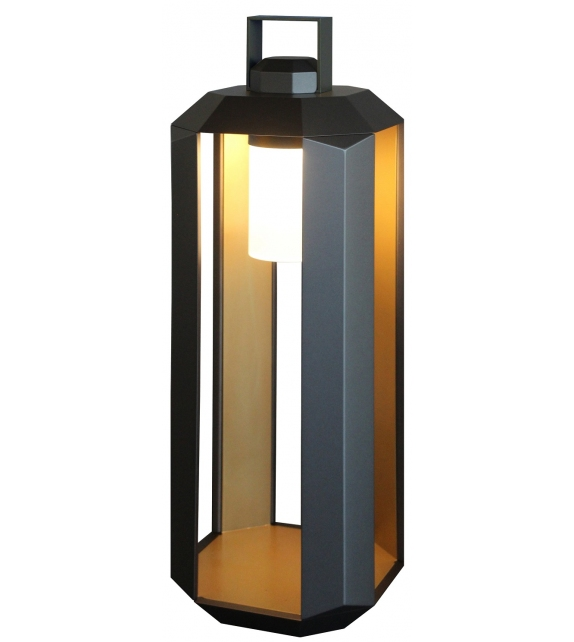 Cube Battery Contardi Outdoor Lamp
