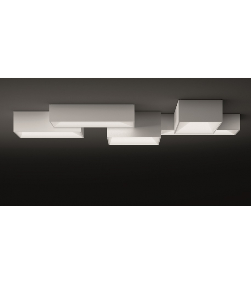 Vibia: Link 5 Modules Ceiling Lamp