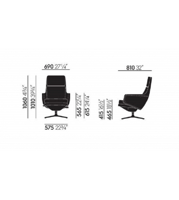 Grand Relax Vitra Fauteuil