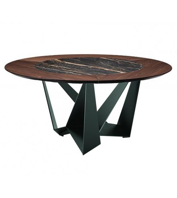 Skorpio Keramik Round Table Cattelan Italia