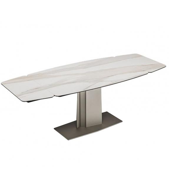 Linus Keramik Drive Extendable Table