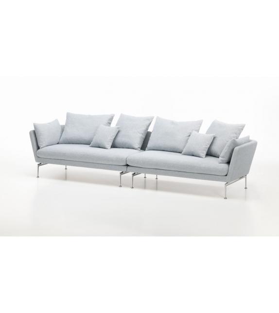 Suita Capitonné Vitra 3 Sitzer Sofa