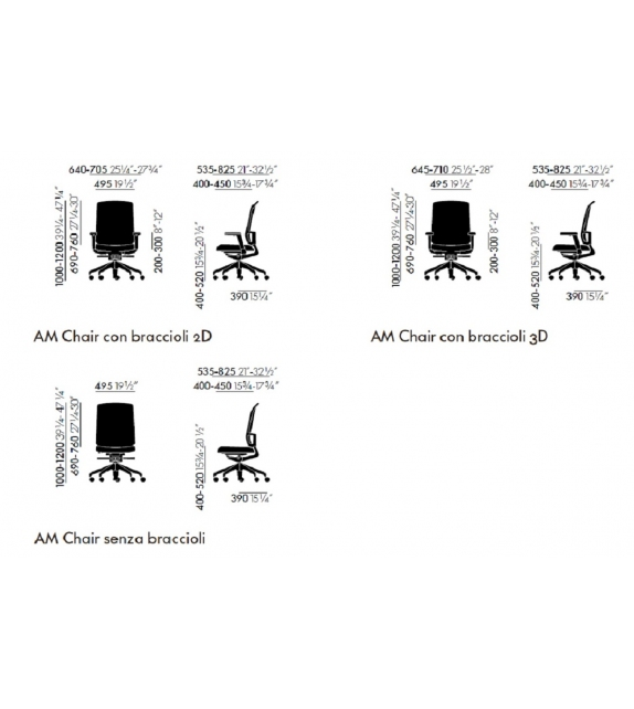 AM Chair Vitra Chaise