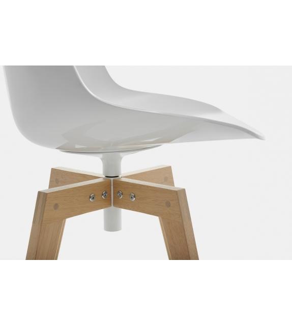 Flow Chair Iroko MDF Italia Outdoor Chaise
