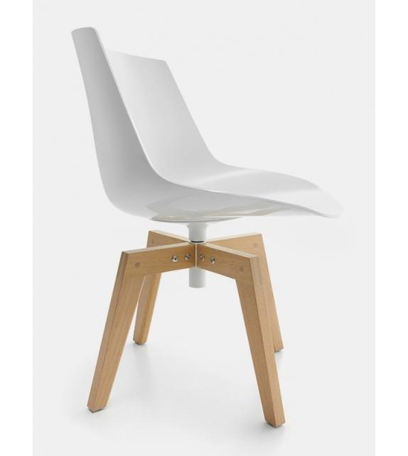 Flow Chair Iroko MDF Italia Outdoor Stuhl