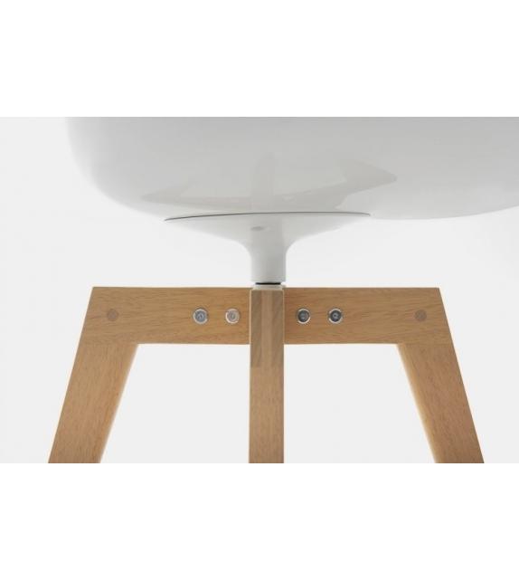 Flow Chair Iroko MDF Italia Outdoor Silla