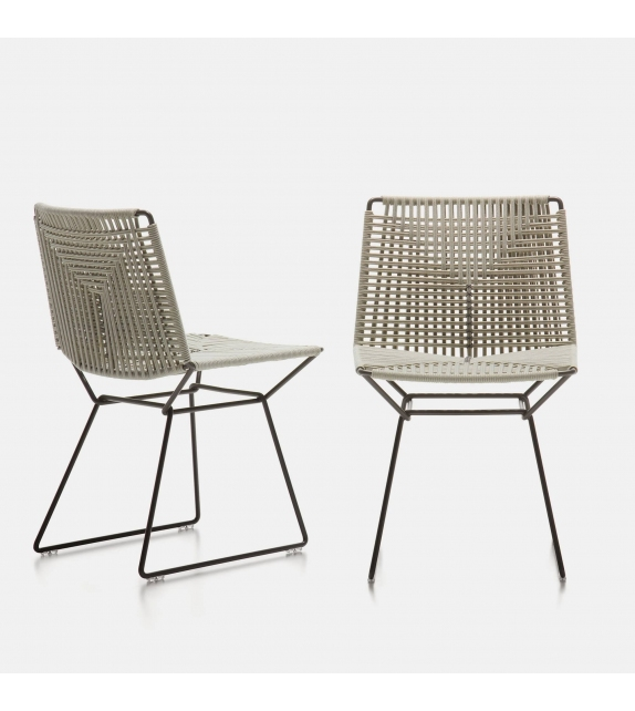 Neil Twist Chair MDF Italia Outdoor Chaise