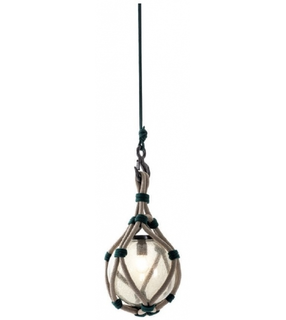 Ready for shipping - Bollicosa Nautilus Cassina Suspension Lamp