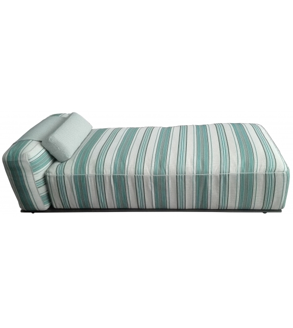 Ready for shipping - Hybrid B&B Italia Outdoor Chaise Longue