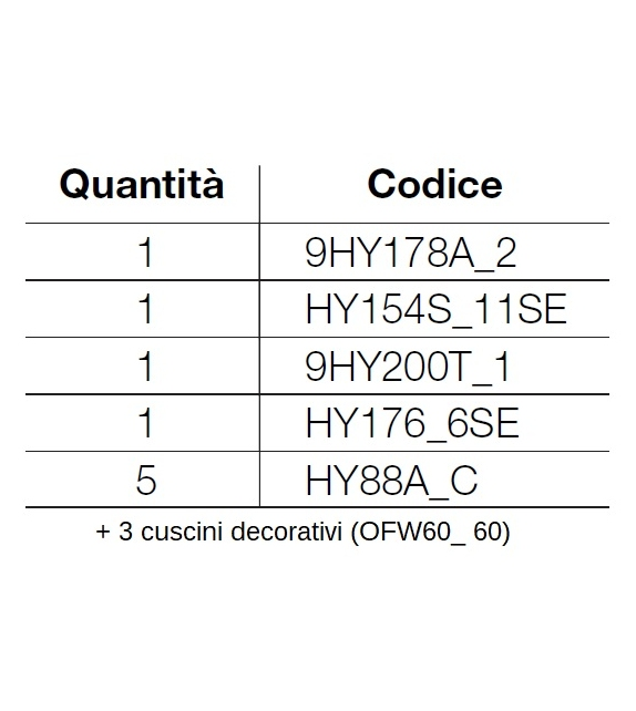 Ready for shipping - Hybrid B&B Italia Outdoor Sofa