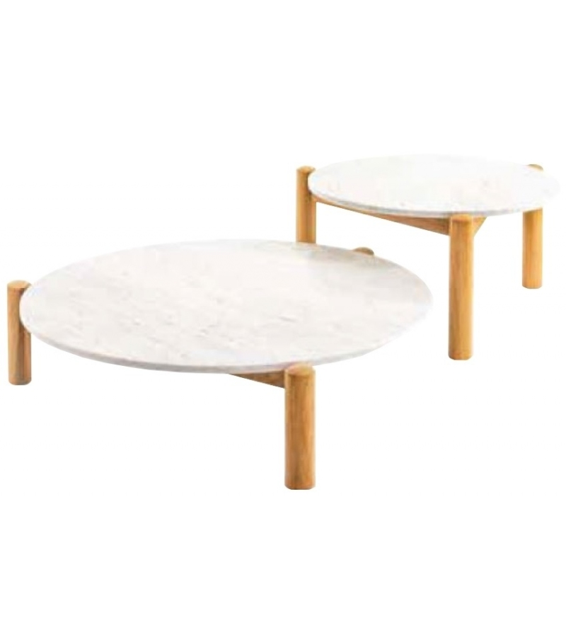Ready for shipping - Table à Plateau Interchangeable Cassina Coffee Table