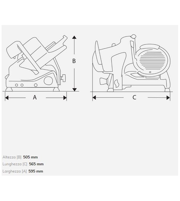 Pro Line XS25 Berkel Slicer