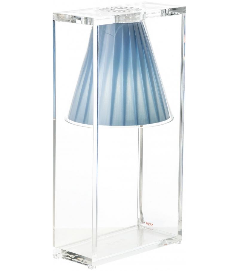 Versandfertig - Light-Air Skulpturen Kartell Tischleuchte