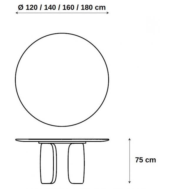 Mellow Bonaldo Table