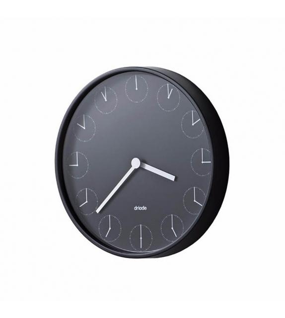Versandfertig - Clock in Clock Driade Uhr