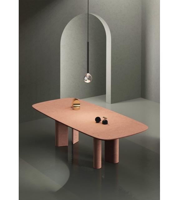 Geometric Terracotta Bonaldo Table