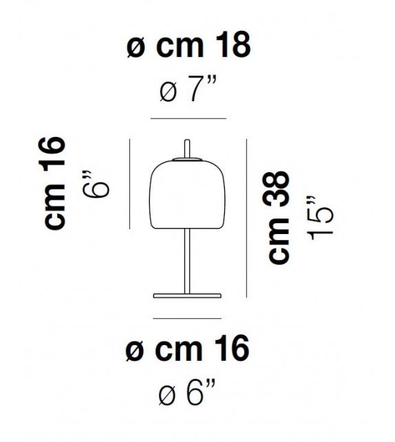 Ready for shipping - Jube Vistosi Table Lamp