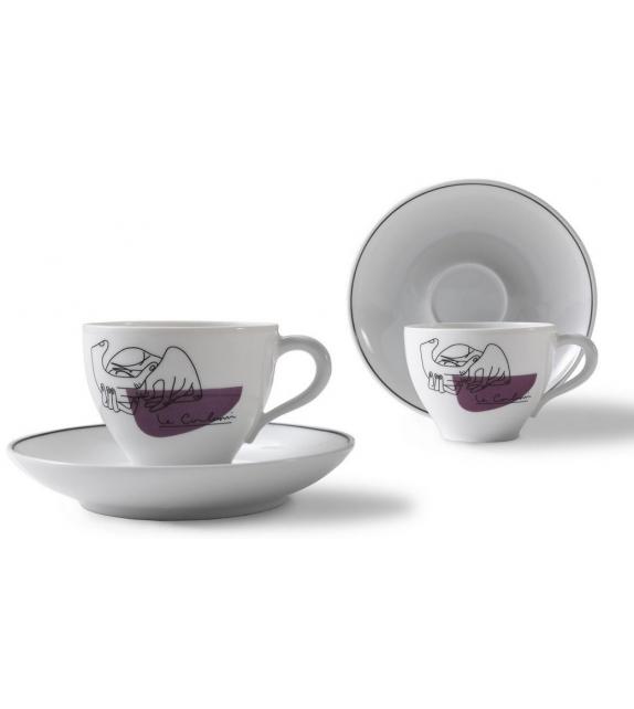 LC Porcellane C.Service Prunier Cassina Juego de Cafe