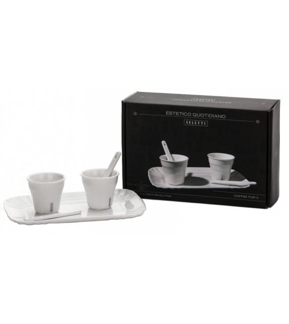 Estetico Quotidiano Coffee Seletti Set 2 Tazze