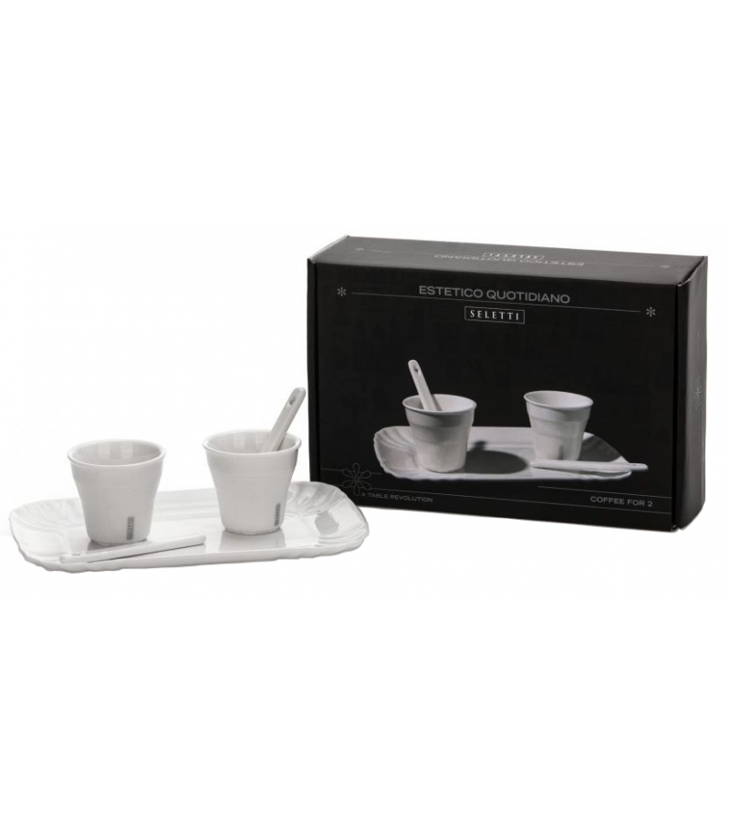 Estetico Quotidiano Coffee Seletti Set 2 Cups
