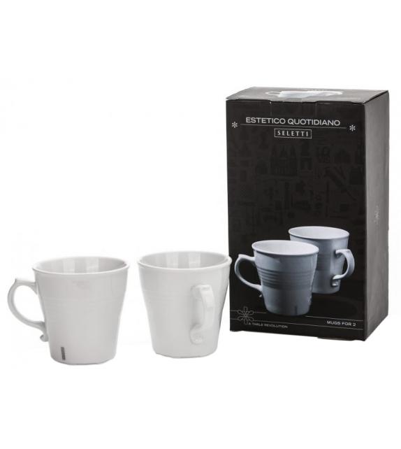 Estetico Quotidiano Coffee Seletti Ensemble 2 Tasses
