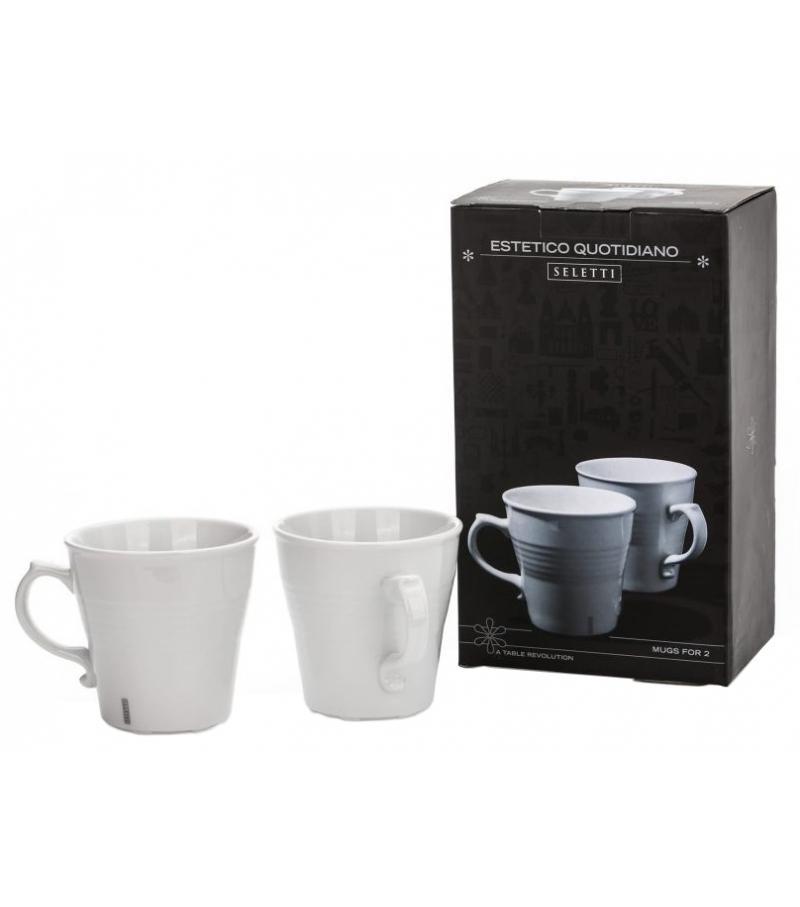 Estetico Quotidiano Mug Seletti Set of 2 Mugs