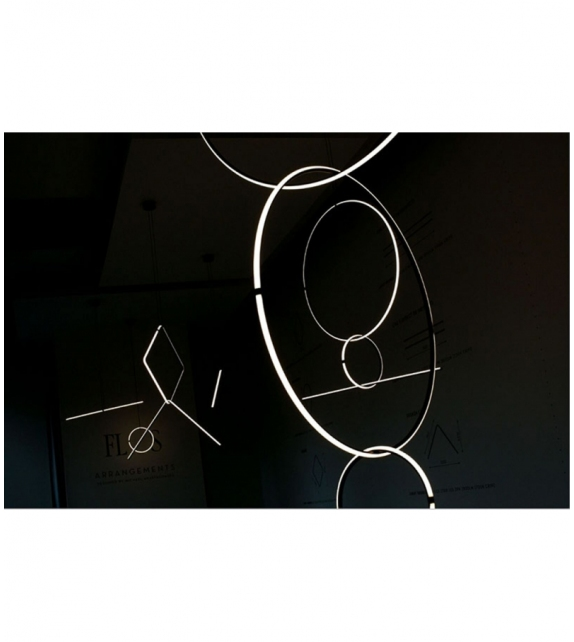 Arrangements Square Flos Pendant Lamp