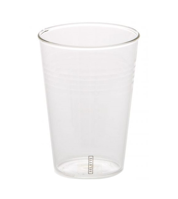 Bicchiere da Birra e Cocktail Seletti Juego de Vasos
