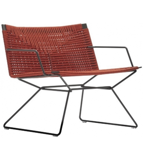 Neil Twist Armchair MDF Italia Outdoor Sessel