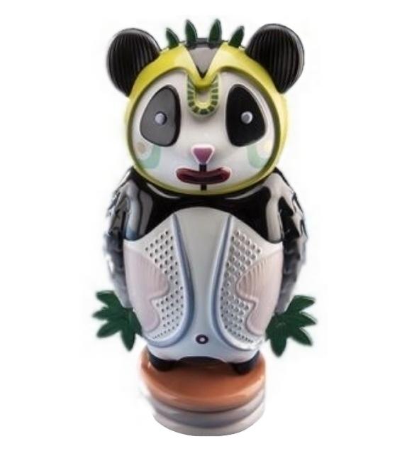 Prêt pour l'expédition - Bernardo Panda Sculpture Bosa